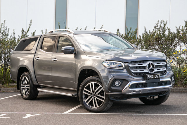 Certified Pre-Owned Mercedes-Benz X-Class 470 X250d 4MATIC Power Mulgrave, 2018 Mercedes-Benz X-Class 470 X250d 4MATIC Power Rock Grey 7 Speed Sports Automatic Utility