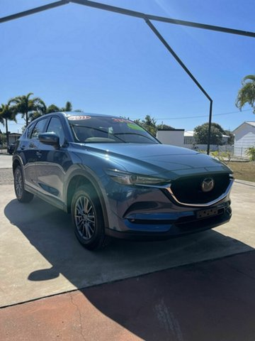New Mazda CX-5 K Maxx Sport Bowen, 2021 Mazda CX-5 K Maxx Sport Blue 6 Speed Automatic Wagon