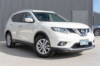 2016 Nissan X-Trail T32 ST-L X-tronic 4WD White 7 Speed Constant Variable Wagon.