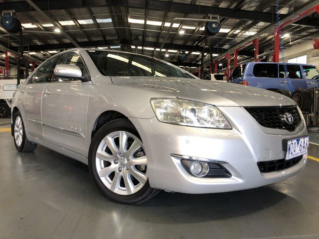 Pre-Owned Toyota Aurion GSV40R Touring SE Oakleigh, 2009 Toyota Aurion GSV40R Touring SE Silver Ash 6 Speed Auto Sequential Sedan
