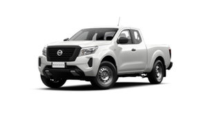2021 Nissan Navara D23 MY21 SL King Cab Solid White 7 Speed Sports Automatic Utility.
