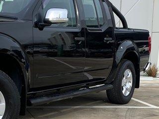 2007 Nissan Navara D40 ST-X Black 5 Speed Automatic Utility