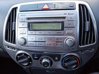 2012 Hyundai i20 PB MY13 Active Silver 4 Speed Automatic Hatchback