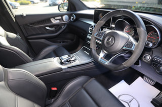 2018 Mercedes-Benz GLC-Class X253 GLC63 AMG SPEEDSHIFT MCT 4MATIC+ S Obsidian Black 9 Speed.