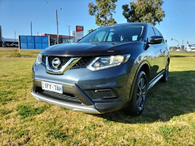 Used Nissan X-Trail T32 ST X-tronic 2WD N-SPORT Black Melton, 2016 Nissan X-Trail T32 ST X-tronic 2WD N-SPORT Black Blue 7 Speed Constant Variable Wagon