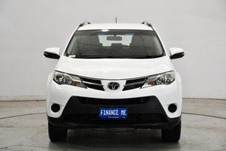 2015 Toyota RAV4 ZSA42R GX 2WD White 7 Speed Constant Variable Wagon.