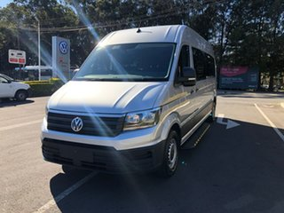 2020 Volkswagen Crafter SY1 MY21 Minibus High Roof LWB FWD TDI410 Silver 8 Speed Automatic Bus