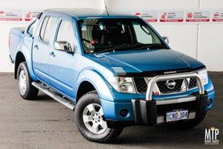 2007 Nissan Navara D40 ST-X (4x4) Blue 5 Speed Automatic Dual Cab Pick-up.