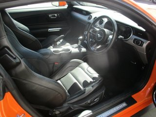 2019 Ford Mustang GT Orange 10 Speed Automatic Coupe