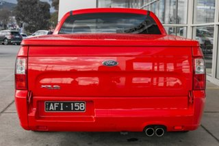 2011 Ford Falcon FG XR6 Ute Super Cab Limited Edition Red 6 Speed Sports Automatic Utility