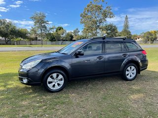 2012 Subaru Outback B5A MY12 2.5i Lineartronic AWD Grey 6 Speed Constant Variable Wagon