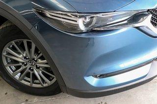 2017 Mazda CX-5 KF2W7A Maxx SKYACTIV-Drive FWD Sport Blue 6 Speed Sports Automatic Wagon.