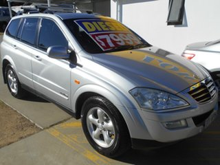 2007 Ssangyong Kyron D100 M270 XDi Silver 5 Speed Sports Automatic Wagon.