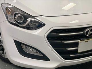 2016 Hyundai i30 GD4 Series II MY17 Active X Polar White 6 Speed Sports Automatic Hatchback.