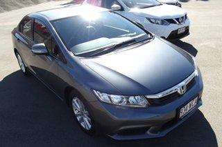 2012 Honda Civic 9th Gen VTi-L Grey 5 Speed Sports Automatic Sedan.