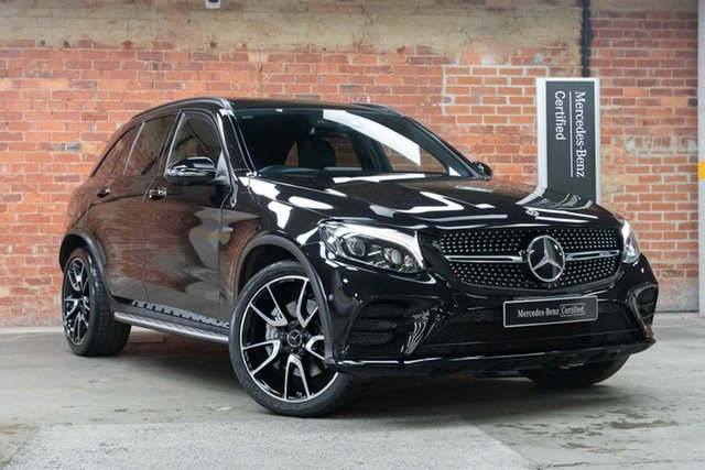 Certified Pre-Owned Mercedes-Benz GLC-Class X253 808MY GLC43 AMG 9G-Tronic 4MATIC Mulgrave, 2017 Mercedes-Benz GLC-Class X253 808MY GLC43 AMG 9G-Tronic 4MATIC Obsidian Black 9 Speed