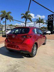 2021 Mazda 2 Q G15 Pure Red 6 Speed Automatic Hatchback