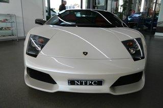 2006 Lamborghini Murcielago MY07 LP640 E-Gear AWD White 6 Speed Seq Manual Auto-Clutch Coupe