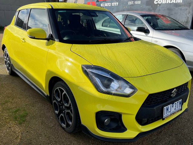 Used Suzuki Swift Cobram, 2018 Suzuki Swift Yellow Sedan