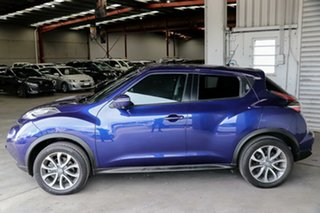 2017 Nissan Juke F15 Series 2 Ti-S X-tronic AWD Blue 1 Speed Constant Variable Hatchback
