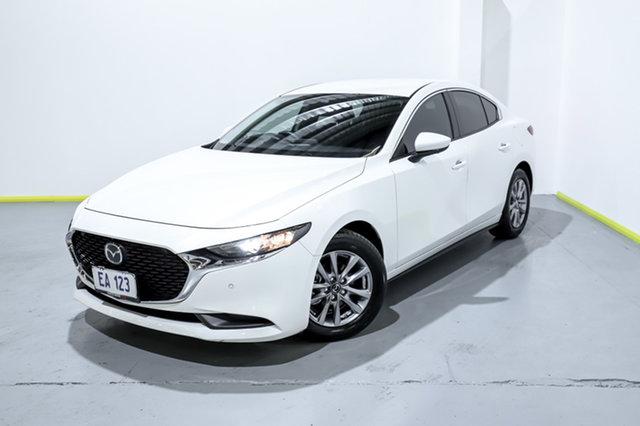 Used Mazda 3 BP2S7A G20 SKYACTIV-Drive Pure Canning Vale, 2020 Mazda 3 BP2S7A G20 SKYACTIV-Drive Pure White 6 Speed Sports Automatic Sedan