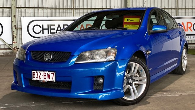 Used Holden Commodore VE MY10 SV6 Rocklea, 2010 Holden Commodore VE MY10 SV6 Blue 6 Speed Sports Automatic Sedan