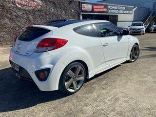 2013 Hyundai Veloster FS3 SR Coupe Turbo White 6 Speed Sports Automatic Hatchback.