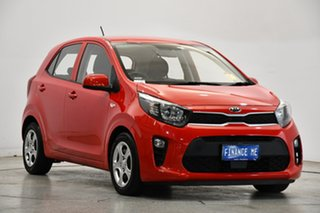 2019 Kia Picanto JA MY19 S Signal Red 4 Speed Automatic Hatchback