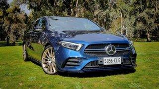 2020 Mercedes-Benz A-Class W177 801+051MY A35 AMG SPEEDSHIFT DCT 4MATIC Blue 7 Speed.