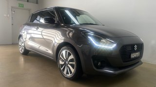 2018 Suzuki Swift AL GLX Turbo Grey 6 Speed Automatic Hatchback.