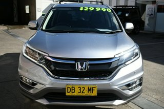 2016 Honda CR-V RM Series II MY17 Limited Edition 4WD Silver 5 Speed Sports Automatic Wagon