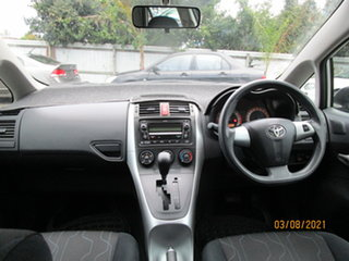 2010 Toyota Corolla ZRE152R MY11 Ascent Silver 4 Speed Automatic Hatchback