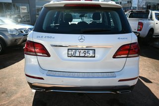 2016 Mercedes-Benz GLE250D 166 White 9 Speed Automatic Wagon