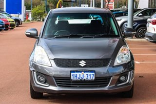 2016 Suzuki Swift FZ MY15 GL Navigator Grey 4 Speed Automatic Hatchback.