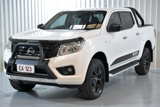 2018 Nissan Navara D23 S3 ST Black Edition White 7 Speed Sports Automatic Utility.