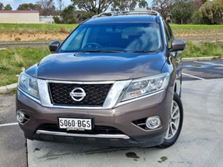 2015 Nissan Pathfinder R52 MY15 ST-L X-tronic 4WD Grey 1 Speed Constant Variable Wagon.