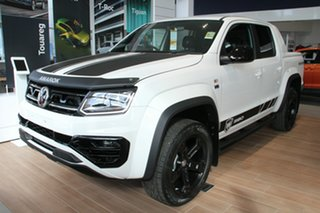 2021 Volkswagen Amarok 2H MY21 TDI580 4MOTION Perm W580S Candy White 8 Speed Automatic Utility.