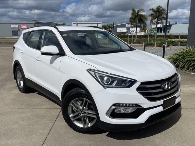Used Hyundai Santa Fe DM3 MY17 Active Townsville, 2017 Hyundai Santa Fe DM3 MY17 Active White/311017 6 Speed Sports Automatic Wagon