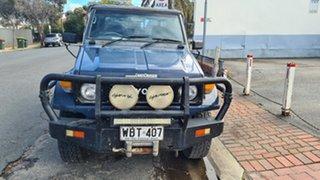1995 Toyota Landcruiser HZJ75RP (4x4) Blue 5 Speed Manual 4x4 Cab Chassis