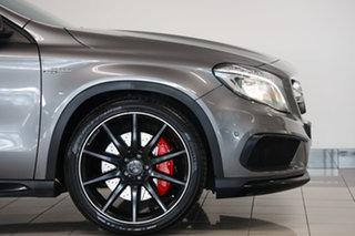 2014 Mercedes-Benz GLA-Class X156 805+055MY GLA45 AMG SPEEDSHIFT DCT 4MATIC Mountain Grey 7 Speed