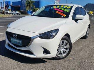 2018 Mazda 2 DJ2HAA Neo SKYACTIV-Drive White 6 Speed Sports Automatic Hatchback.