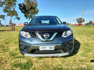 2016 Nissan X-Trail T32 ST X-tronic 2WD N-SPORT Black Blue 7 Speed Constant Variable Wagon.