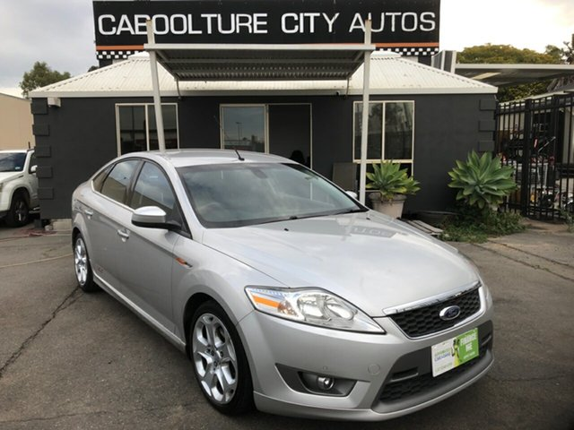 Used Ford Mondeo MA XR5 Turbo Morayfield, 2008 Ford Mondeo MA XR5 Turbo Silver 6 Speed Manual Hatchback