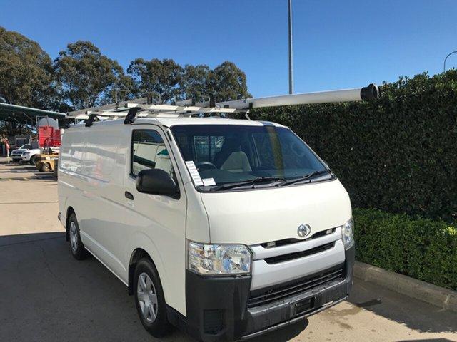 Used Toyota HiAce KDH201R LWB Acacia Ridge, 2017 Toyota HiAce KDH201R LWB French Vanilla 4 speed Automatic Van