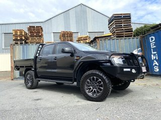 2015 Ford Ranger PX XLS Double Cab Black 6 Speed Manual Utility.