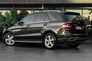 2012 Mercedes-Benz M-Class W166 ML250 BlueTEC 7G-Tronic + Brown 7 Speed Sports Automatic Wagon.