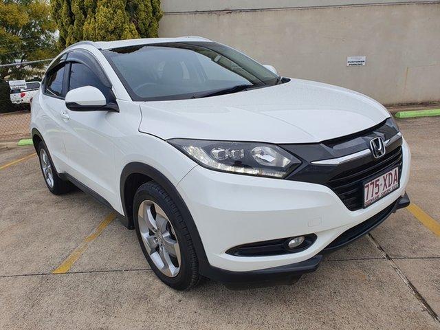 Used Honda HR-V MY16 VTi-S Toowoomba, 2016 Honda HR-V MY16 VTi-S White 1 Speed Constant Variable Hatchback