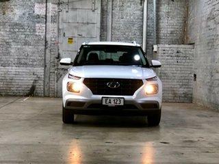 2021 Hyundai Venue QX.V3 MY21 White 6 Speed Automatic Wagon.