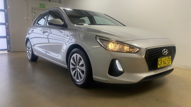 Used Hyundai i30 PD Go Phillip, 2018 Hyundai i30 PD Go Silver 6 Speed Auto Sequential Hatchback