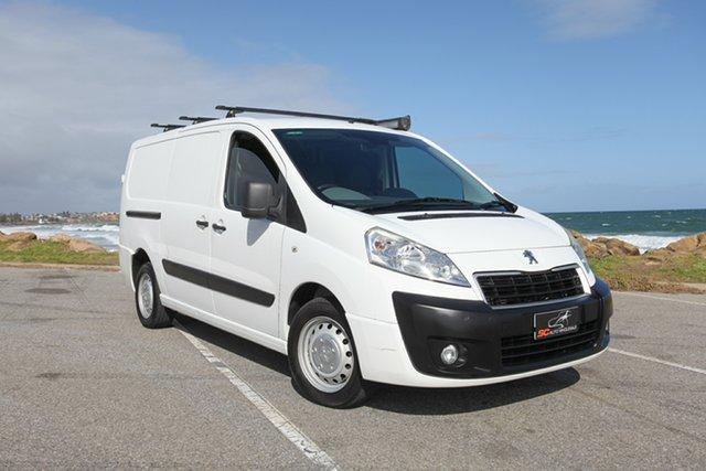 Used Peugeot Expert MY12 Low Roof LWB Lonsdale, 2012 Peugeot Expert MY12 Low Roof LWB White 6 Speed Automatic Van